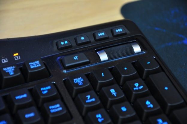 Media keys on Logitech G19s keyboard. Source: KENYSL.com