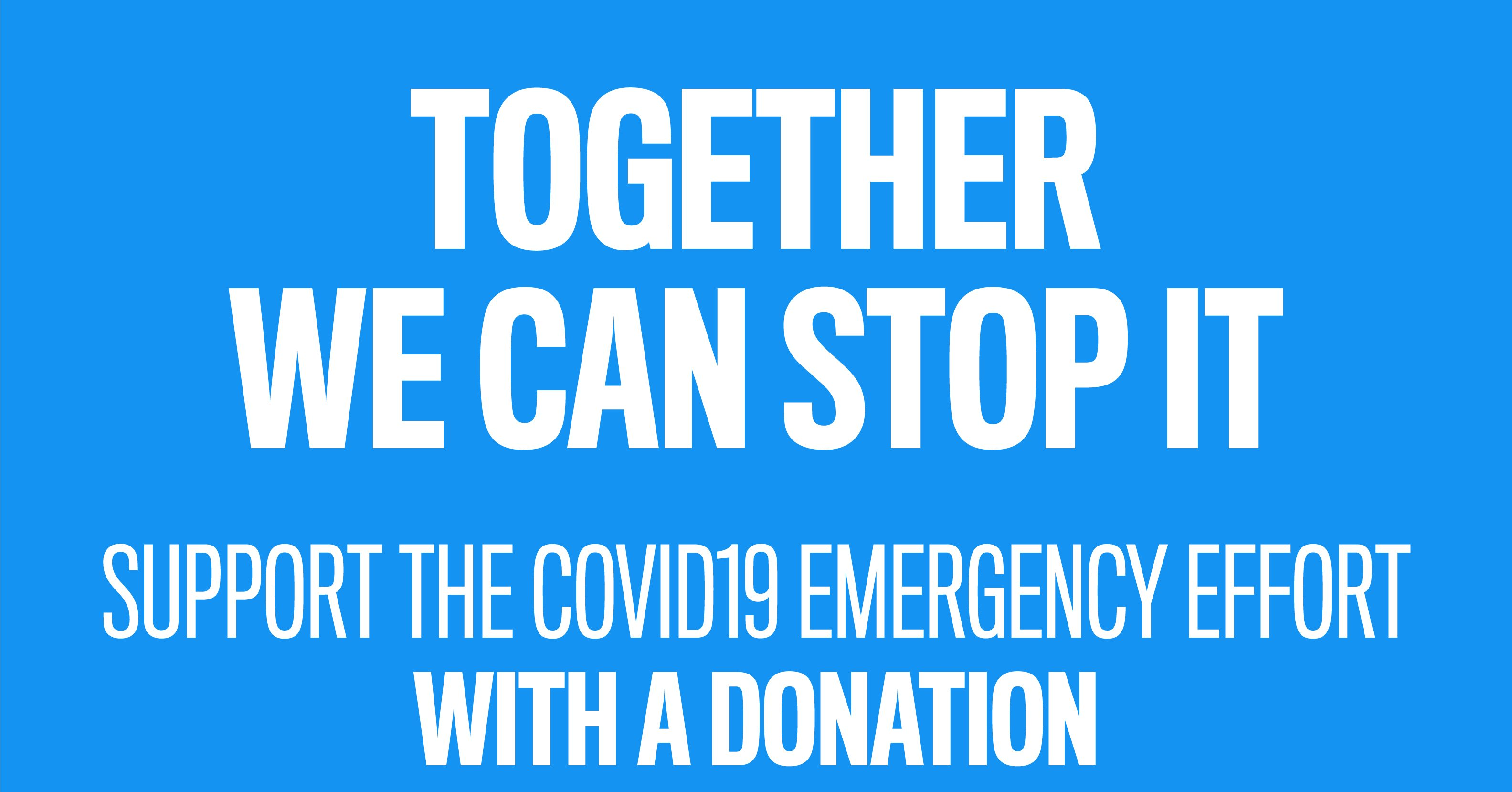 Help us fight COVID-19 in Piedmont